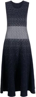 Antonino Valenti Knitted Sleeveless Long Dress