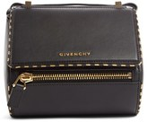 Givenchy Mini Pandora Box Leather Shoulder Bag - Black