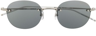 Montblanc Rimless Tinted Sunglasses