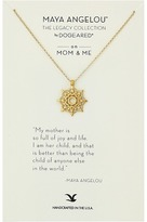 Dogeared Maya Angelou: Mom Me Necklace Necklace