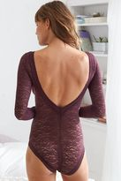 aerie Vintage Lace Long Sleeve Bodysuit