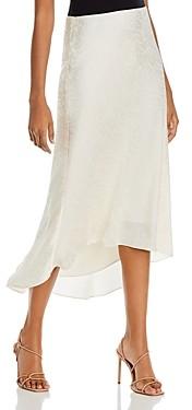 GUESS Evolette Bias Midi Skirt