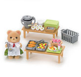 International Playthings Calico Critters School Lunch Set