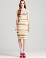 Dress - Geo Intarsia Striped
