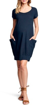 Maternal America Side Pocket Maternity Dress