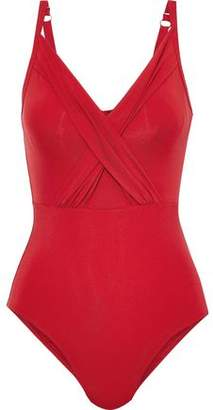 Jets Jetset Ruched Underwired Swimsuit