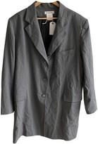 Christian Dior Grey Wool Jackets