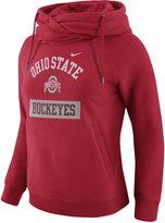 Nike Women's Ohio State Buckeyes Tailgate Funnel Hoodie