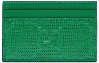 Gucci GG embossed card case