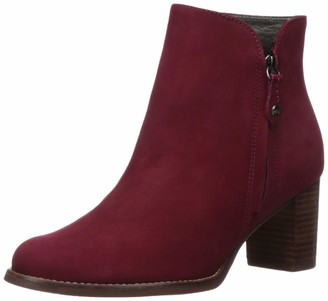 Marc Joseph New York Women's Leather Block Heel Ankle Boot