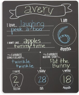 Pearhead 'All About Baby' Chalkboard