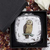 Eve of St. Agnes Owl Compact Mirror Gift
