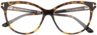 Tom Ford thin cat-eye glasses