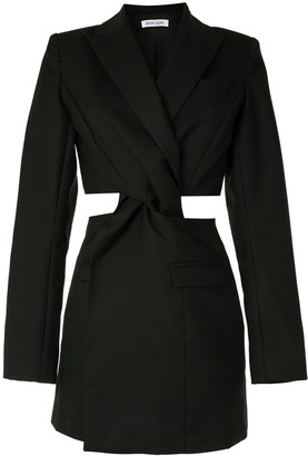 ANNA QUAN Chiara twist blazer dress