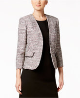 Kasper Petite Embellished Tweed Jacket