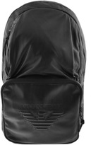 Giorgio Armani Jeans Packaway Backpack Bag Black