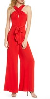 Harlyn Halter Neck Wide Leg Jumpsuit