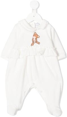 MonnaLisa Teddy Bear Ruffled Pyjama