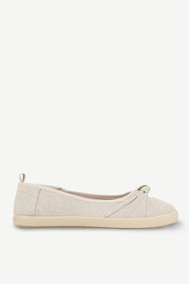 Ardene Canvas Slip-On sneakers with Bow