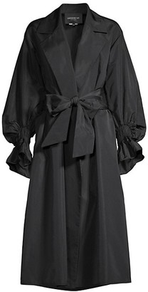 Lafayette 148 New York Reilly Taffeta Coat