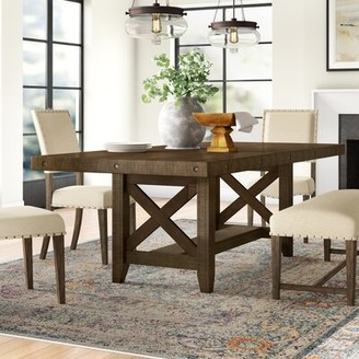 Three Posts Melstone Extendable Dining Table