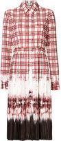 Altuzarra tie dye pleated shirt dress - women - Polyester - 38