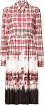 Altuzarra tie dye pleated shirt dress