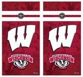 NCAA Wild Sports College Vinyl Cornhole Shield - 2 x 4 ft.