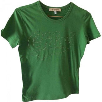 See by Chloe Green Cotton Top for Women