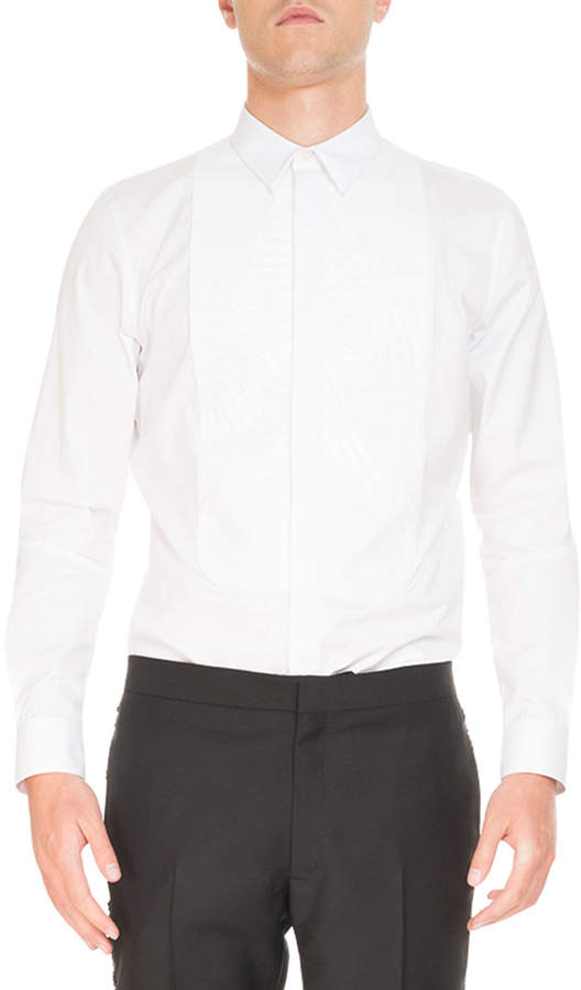 Givenchy Tonal Star-Print Cotton Shirt