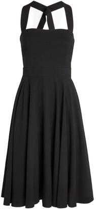 Dolce & Gabbana Cut-Out Skater Dress
