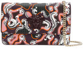 Versace Palazzo printed clutch bag - women - Leather/plastic - One Size