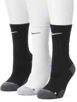 Nike Women's 3-pk. Cushioned Crew Socks