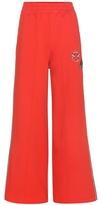 Tommy Hilfiger Cotton Track Pants With Appliqué