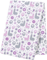 Trend Lab 48'' x 48'' Llama Friends Jumbo Deluxe Swaddle Blanket