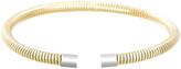 Bliss Gold Snake Chain Cuff Bracelet
