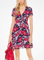 Michael Kors Floral Georgette Dress