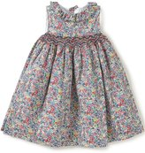 Edgehill Collection Little Girls 2T-4T Floral Smocked Dress