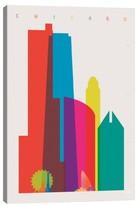 iCanvas 'Chicago' Giclee Print Canvas Art