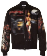 Givenchy Heavy Metal-print Bomber Jacket