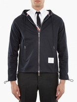 Thom Browne Navy Cotton Coach Jacket