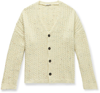 Our Legacy Cable-Knit Wool Cardigan