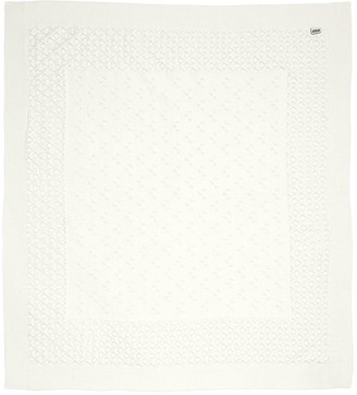 Mamas and Papas Knitted Blanket - Pointelle Occasion