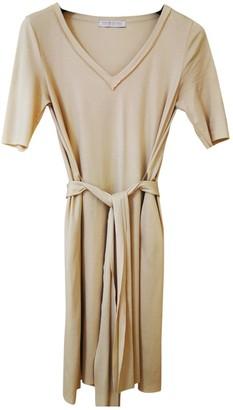 Harris Wharf London Yellow Cotton Dress for Women