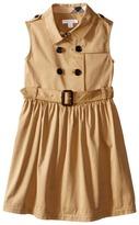 Burberry Iliana Sleeveless Trench Dress Girl's Dress