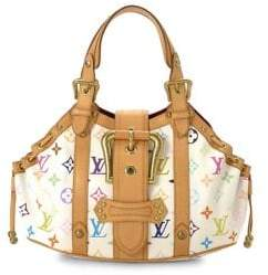 Louis Vuitton Vintage Limited Edition Monogram Multicolore Theda GM Shoulder Bag