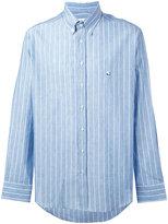 Etro long-sleeved shirt - men - Cotton/Linen/Flax - M