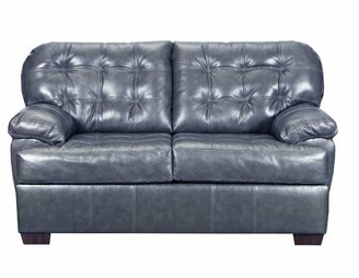 """Red Barrel Studio Thy 69"""" Pillow top Arm Loveseat Upholstery Color: Soft Touch Fog"""
