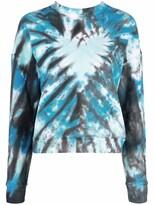 Thumbnail for your product : MAISIE WILEN Tie-Dye Print Cotton Sweatshirt