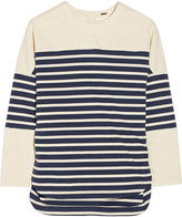 ADAM by Adam Lippes Striped cotton top